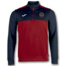 North Kildare Cricket Club Winner Quarter Zip Red/Navy - Adults 2018
